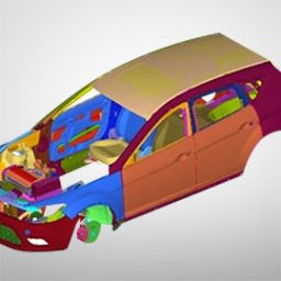 Case Study: Full Vehicle Meshing
